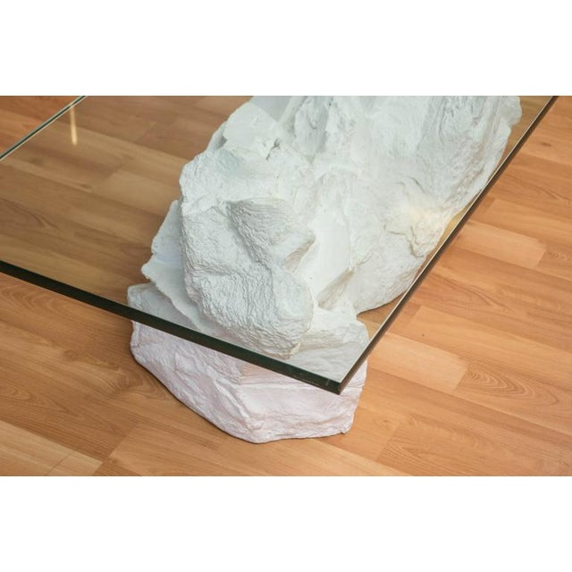Sirmos White Plaster Rocks Coffee Table - Image 5 of 6