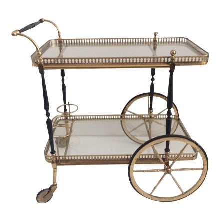 French Bar Cart From the 1940's For Sale