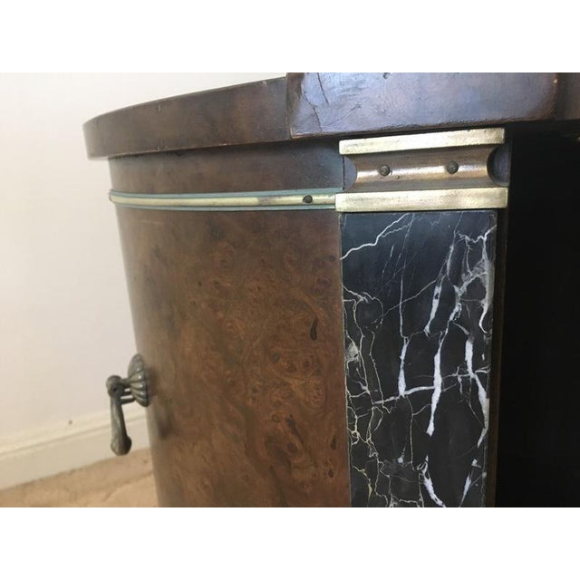 Classical Style Faux Marble & Laminate End Table - Image 6 of 6