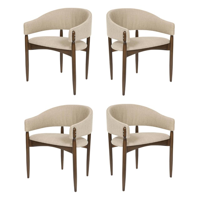 2010s Set of 4 Enroth Dining Chairs For Sale - Image 5 of 5