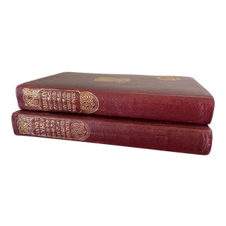 1930s Vintage Jane Eyre & Shirley Books by Charlotte Bronte - a Pair For Sale