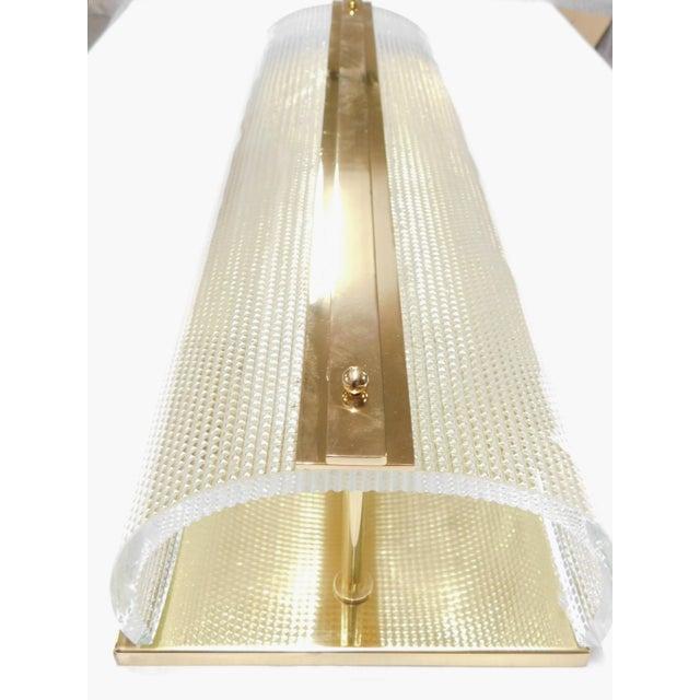 Fabio Ltd Pair of Strutturato Sconces / Flush Mounts by Fabio Ltd For Sale - Image 4 of 6
