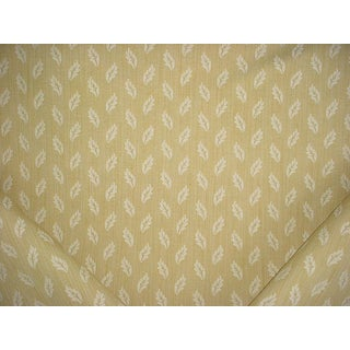 Brunschwig Et Fils Arden Figured Woven Honey Dew Upholstery Fabric - 2-3/8y For Sale