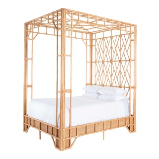 Paradise Canopy Queen Bed For Sale