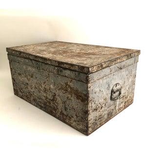 Vintage Industrial Metal Storage Box Preview