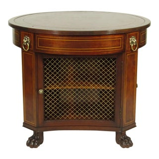 Regency-Style Library Table For Sale
