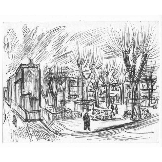 Alex Tschernjawski born 1933 Yugoslavia, lives and works in New York City. Signed lower left.