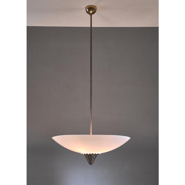 Lisa Johansson-Pape 1090 Pendant for Orno, Finland, 1950s For Sale - Image 6 of 6