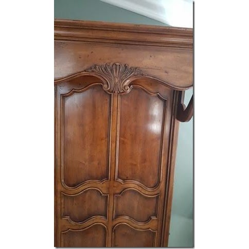 Henredon French Country Queen Bed - Image 9 of 9
