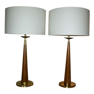 Pair of Table Lamps by Rembrandt For Sale