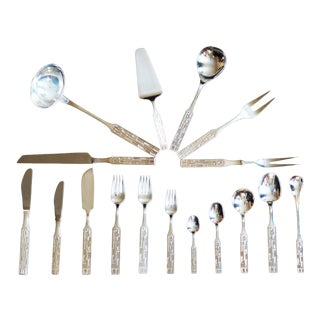 Austrian Vintage Flatware by Berndorf - Set of 81 For Sale