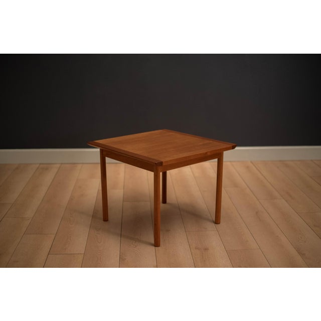 1960s Mid-Century Modern Westnofa Teak Side Table For Sale - Image 12 of 12