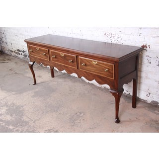 Henkel Harris Mahogany Queen Anne Sideboard Credenza Preview