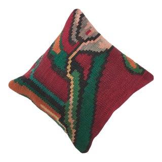 Boho Chic Decorative Vintage Kilim Pillow