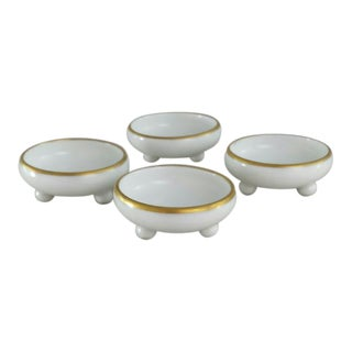 French Limoges Salt Cellars - 4 Pieces