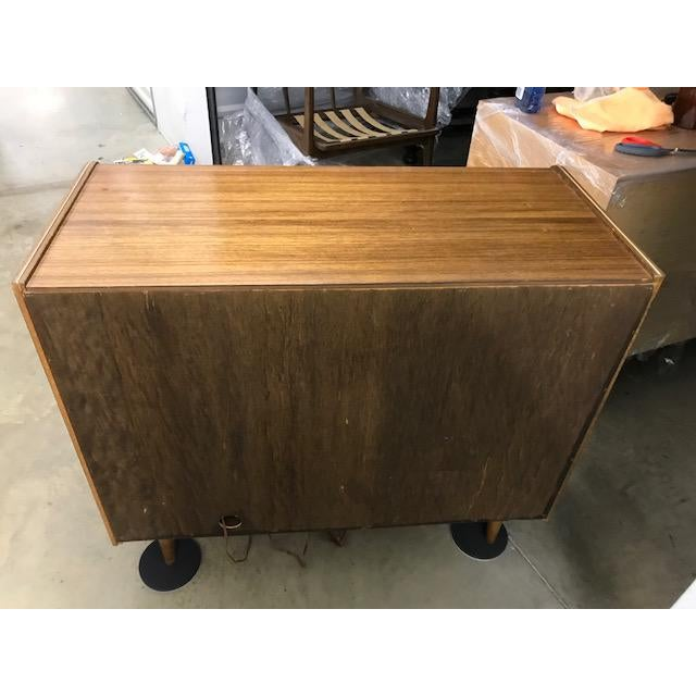Vintage Mid-Century Modern Dry Bar For Sale In Washington DC - Image 6 of 7