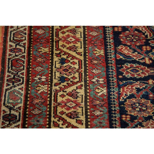 "Antique Malayer Rug Runner - 5'2"" X 9'9"" - Image 7 of 10"