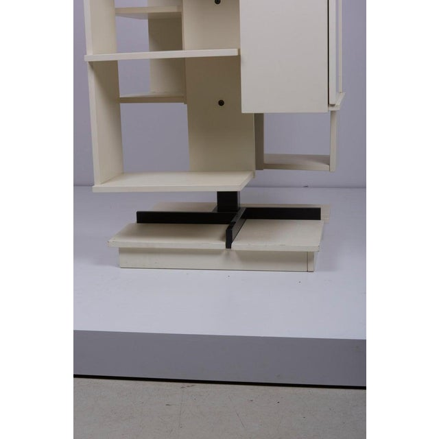 Mid-Century Modern Rotating Wooden Bookshelf by Claudio Salocchi for Sormani, Italy For Sale - Image 3 of 10