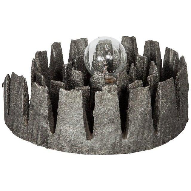 1960's Mid-Century Modern Brutalist Sculptural Lamp, Germany For Sale - Image 11 of 11