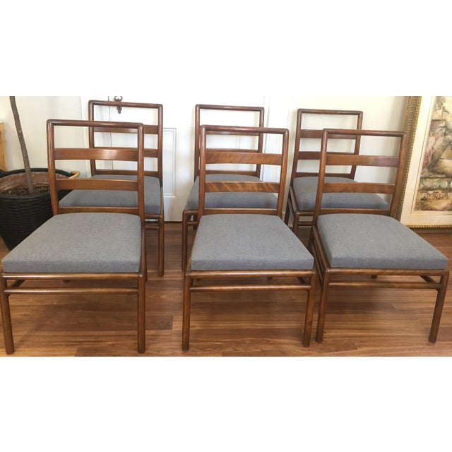 Robsjohn Gibbings for Widdicomb Dining Chairs- Set of 6 - Image 2 of 11
