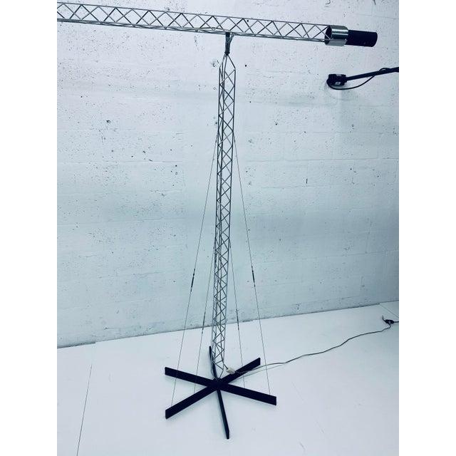 1970s Original Curtis Jere Crane Floor Lamp, 1970s For Sale - Image 5 of 13