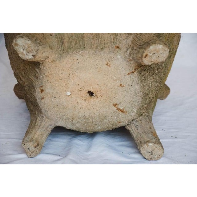 Mid 20th Century Faux Bois Planter For Sale - Image 12 of 13