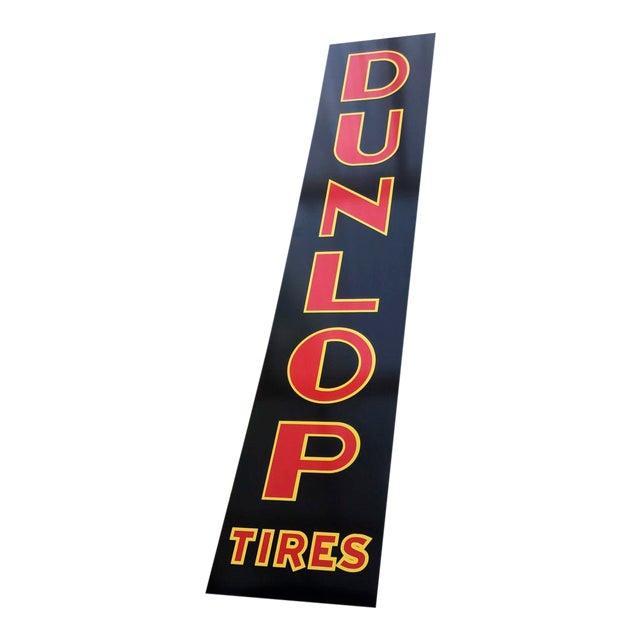 "Vintage Style ""Dunlop Tires"" Sign - Image 1 of 4"