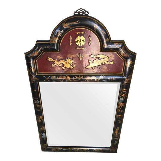 Chinese Chinoiserie Mirror - Image 1 of 6
