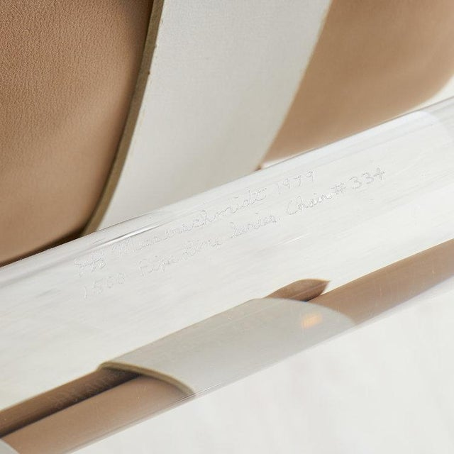 Leather Jeff Messerschmidt Pipeline Series II Chair in Leather For Sale - Image 7 of 12