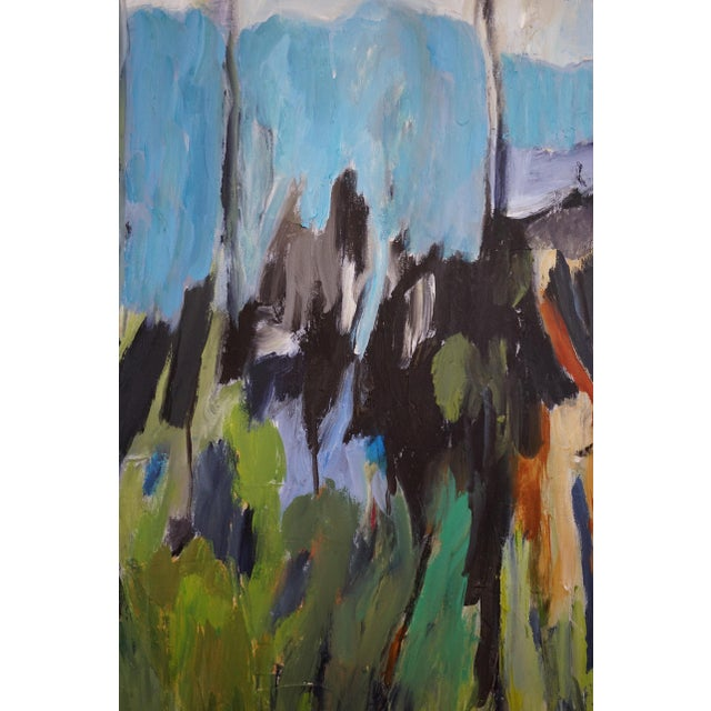 2010s Laurie MacMillan Original Abstract Landscape Painting For Sale - Image 5 of 7