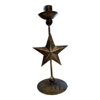 Metal Star Candle Holder For Sale