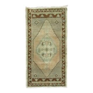 Vintage Turkish Rug, 1'9'' x 3'3''