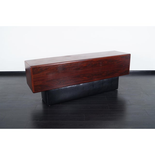 Danish Modern Rosewood Credenza For Sale In Los Angeles - Image 6 of 9