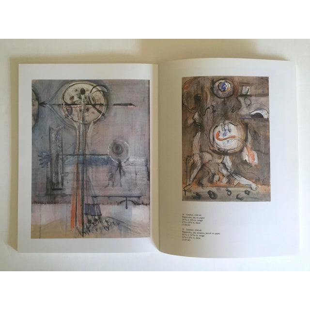 """"""" Mark Rothko : Works on Paper """" Vintage 1984 1st Edtn Abstract Expressionist Lithograph Print Exhibition Art Book For Sale - Image 11 of 13"""