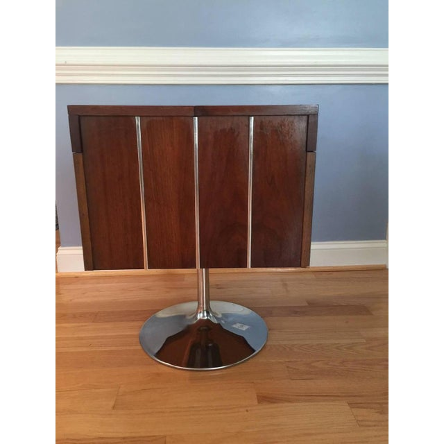 Lane Mid-Century Swivel Bar Cart - Image 2 of 7