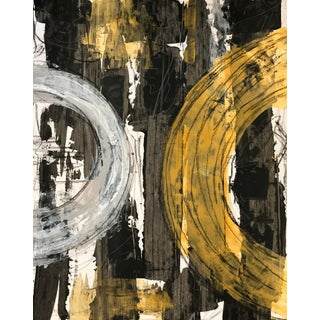 Contemporary Abstract Expressionist Painting by Tony Marine For Sale