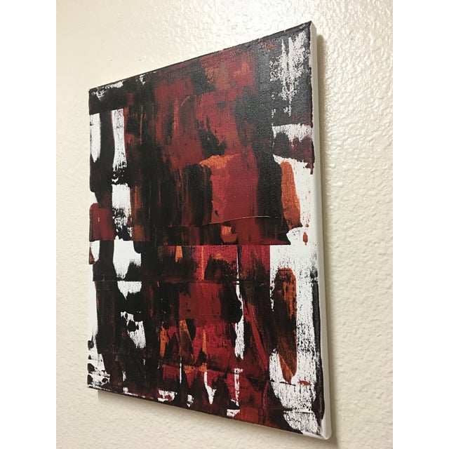 "Abstract Elizabeth Ann ""Backlash"" Original Painting For Sale - Image 3 of 4"