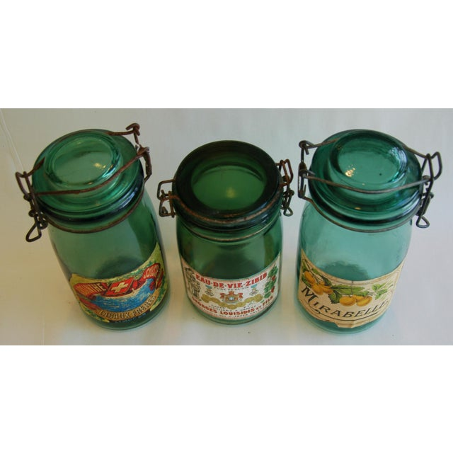 1930s French Canning Preserve Jars - Set of 3 - Image 4 of 8