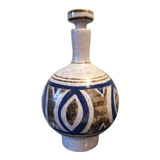 Pottery Craft California Art Pottery Decanter For Sale
