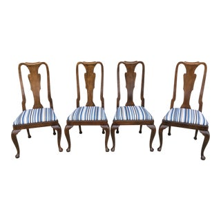 Baker Furniture Dining Chairs - Set of 4 For Sale