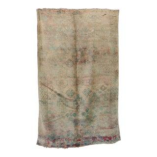 "Boujad Vintage Moroccan Rug, 5'11"" X 9'9"" For Sale"
