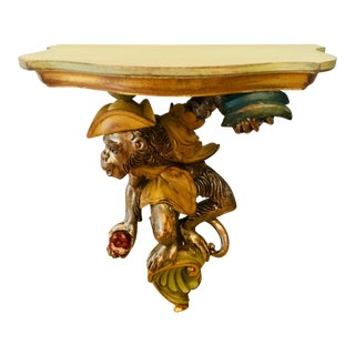 Roberto Giovanni Carved Monkey Bracket