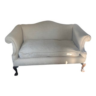1950s Vintage Classic French Provincial Love Seat For Sale