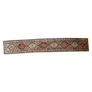 """Vintage Persian Serab Rug Runner - 2'10"""" X 17'6"""""""