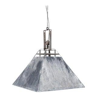 1970s Industrial Metal Lamp For Sale