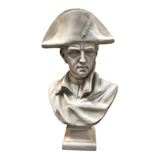 Modern Composition Napoleon Life Size Bust For Sale