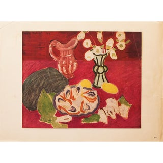 "1946 Henri Matisse Original ""Christmas Roses and Oysters"" Period Parisian Lithograph For Sale"