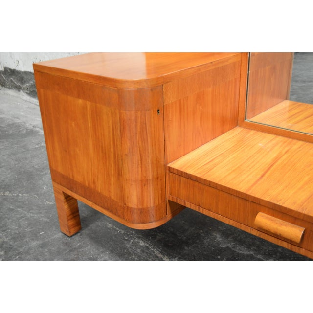 Wood Swedish Art Deco Dressing Table Vanity For Sale - Image 7 of 11