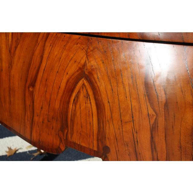Mid-Century Italian Olive Wood Commode - Image 11 of 11