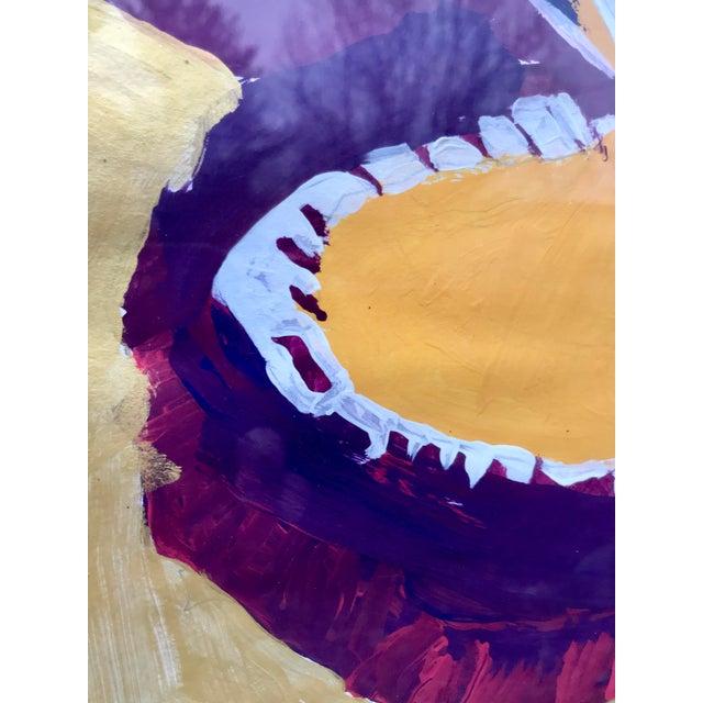Metal Framed Kid Art Painting For Sale - Image 7 of 12